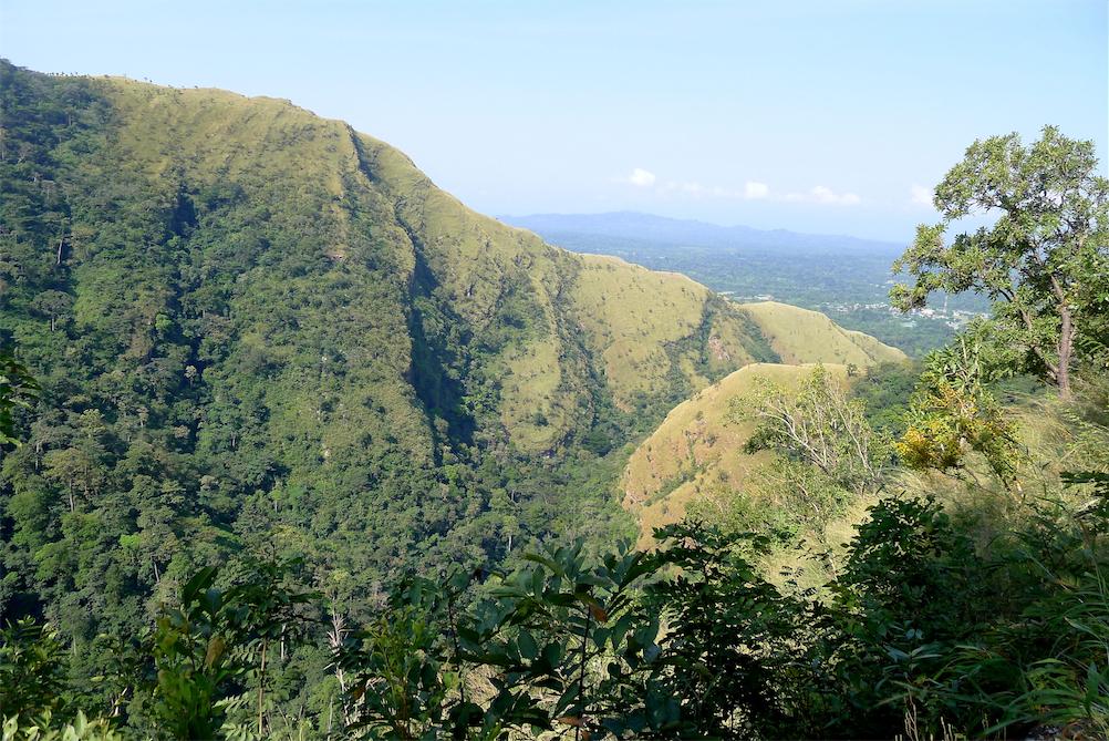 Wli waterfall hike-Mountains from path 1