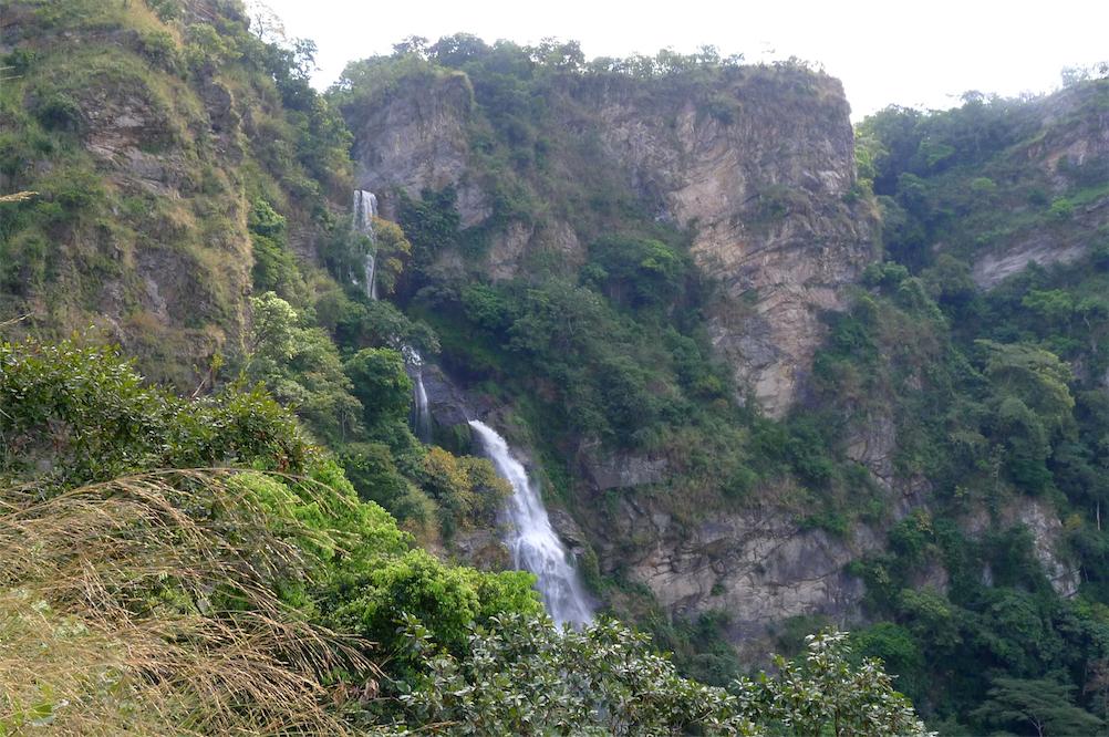 Wli waterfall hike-Top of falls from path 5